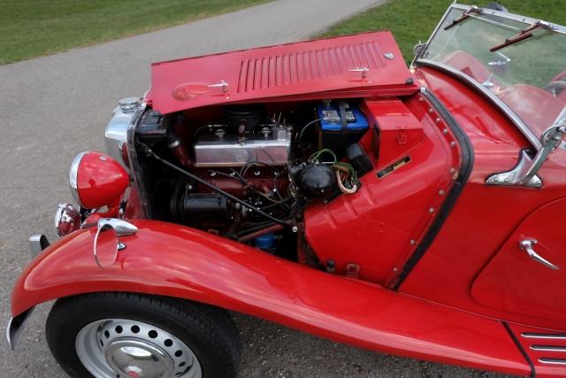 MG TD 1952 Oldtimer